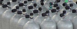 Contrôle des bouteilles de plongées