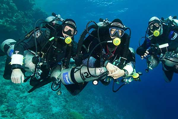 Formation Tec40 PADI - TDI procédures de décompression