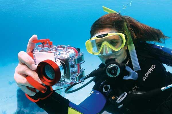 Plongée de spécialité photographie numérique PADI